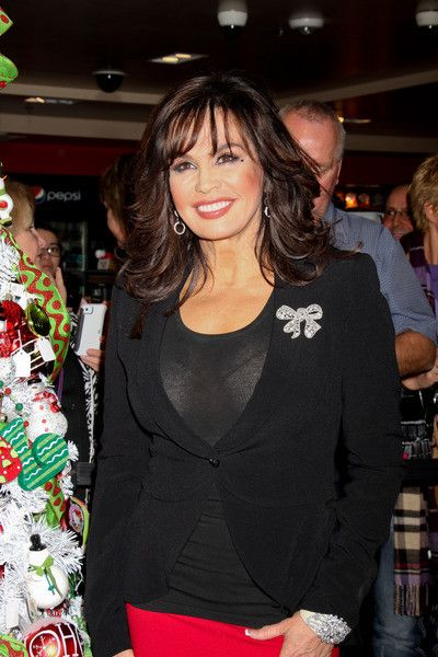 Marie Osmond In A See Through Blouse From A Doll Signing Nov 2012