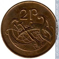 Coin > Ireland 2 pence 1980