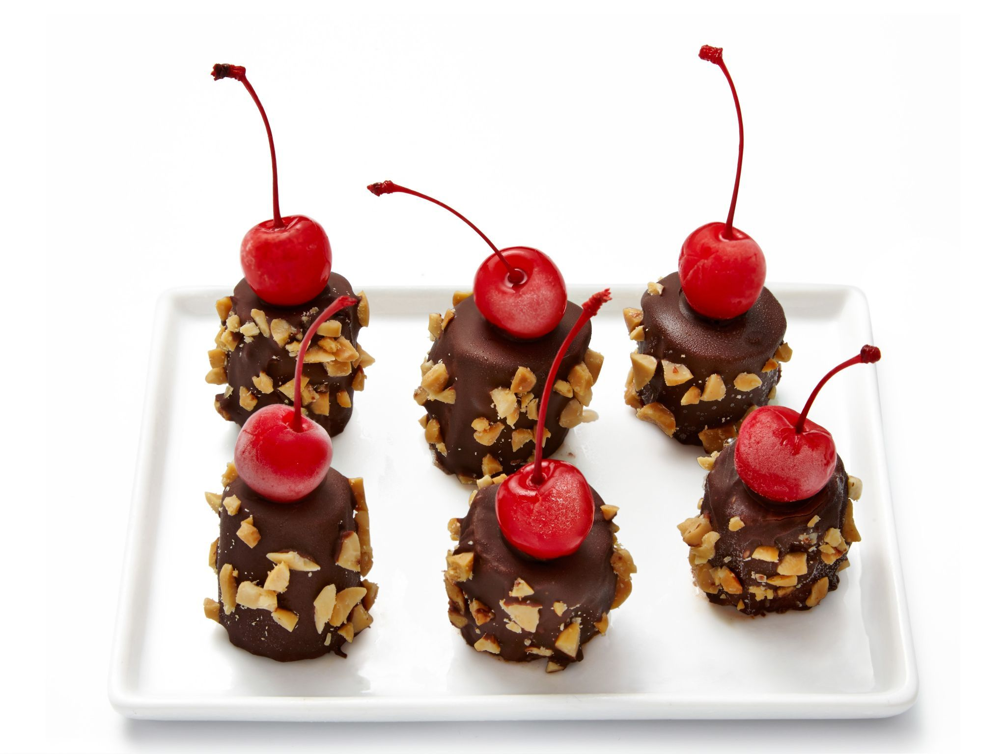 Banana split bites recipe from food network kitchen via food network banana split bites recipe from food network kitchen via food network forumfinder Image collections