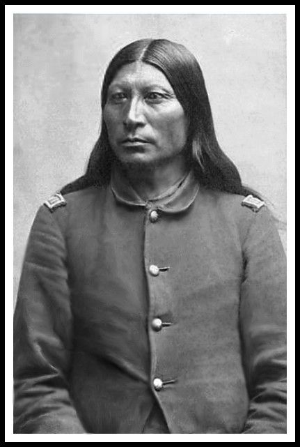 Arapaho Chief Sharp Nose 2nd Chief Of Arapahos Photo 1877