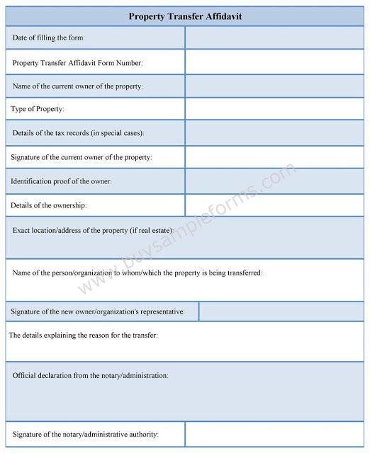 Sample Personal Affidavit Form Affidavit Templates in Word format