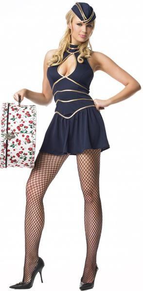 quality Stewardess sexy costume