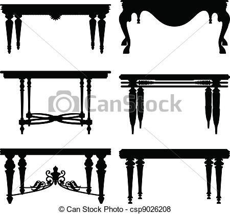 Antique Ancient Classic Table Muri Fai Da Te