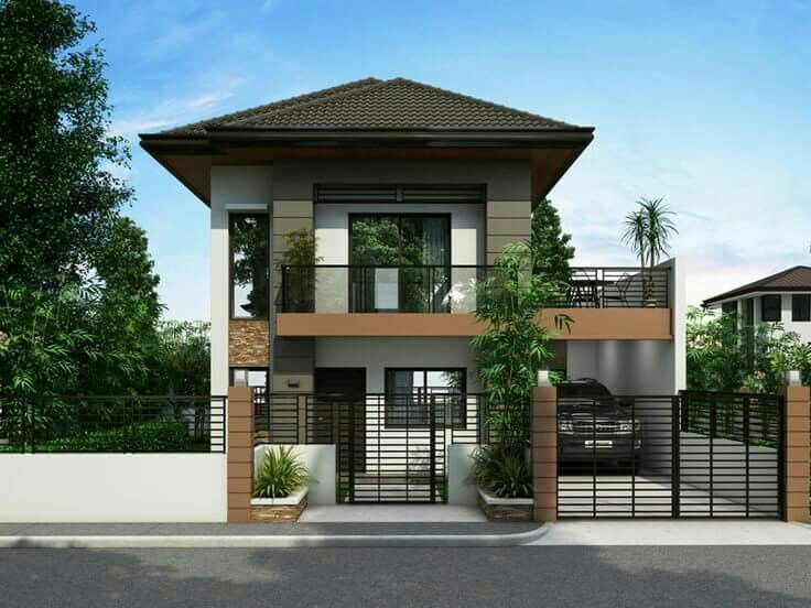 Design Black And White My House Narrow House Designs