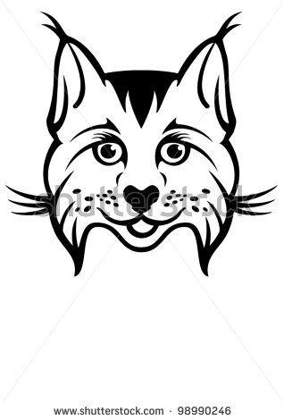 Bobcat Face Clip Art