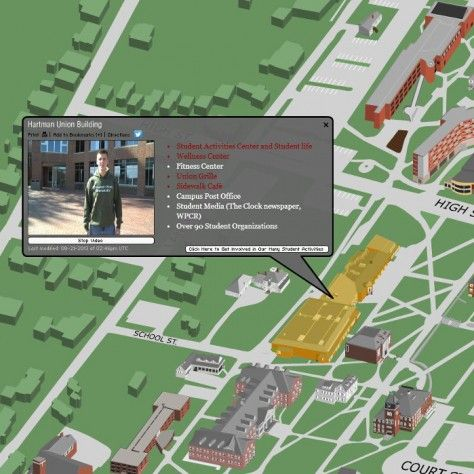 plymouth state campus map Plymouth State University Plymouth State Campus Map Colleges plymouth state campus map