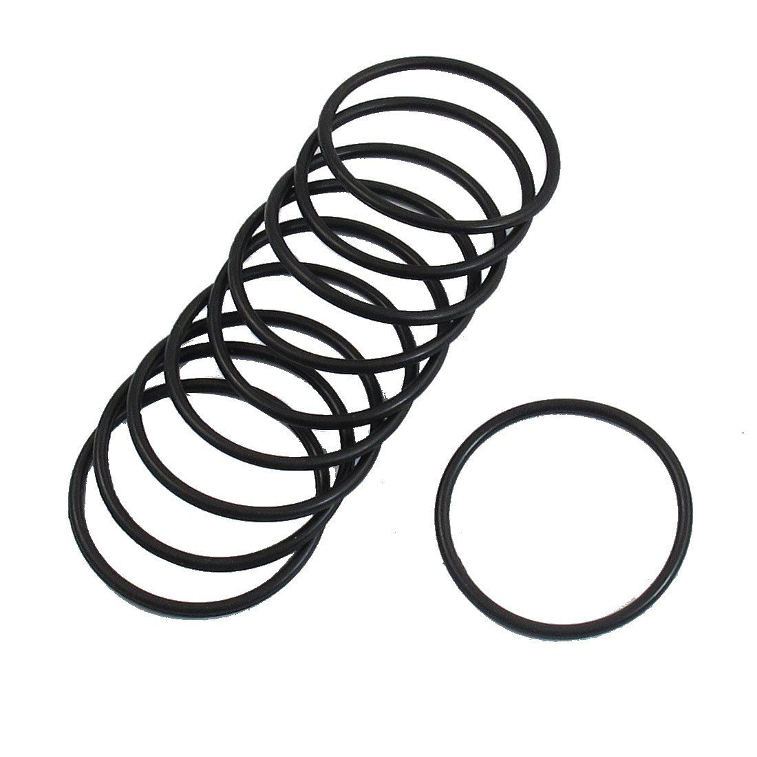 10 Pcs 35mm X 2mm Industrial Flexible Rubber O Ring Seal Washer Ear Grommets Industrial Hardware Hardware