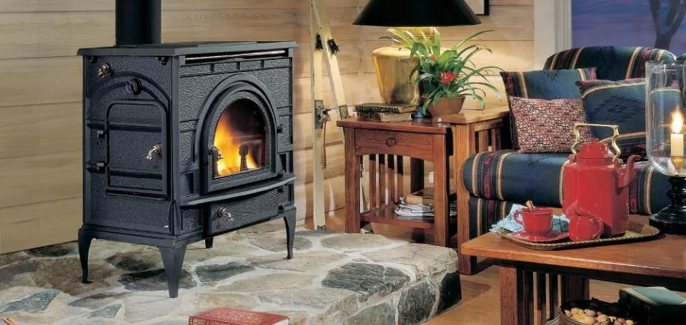 DutchWest Catalytic Wood Burning Stoves by Majestic Products