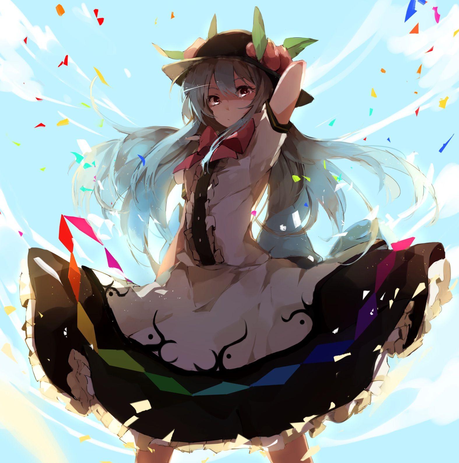 東方 touhou イラスト クールなアニメの女の子 アニメエクスポ