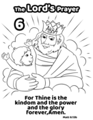 For Thine is the Kingdom and the Power and the Glory ...