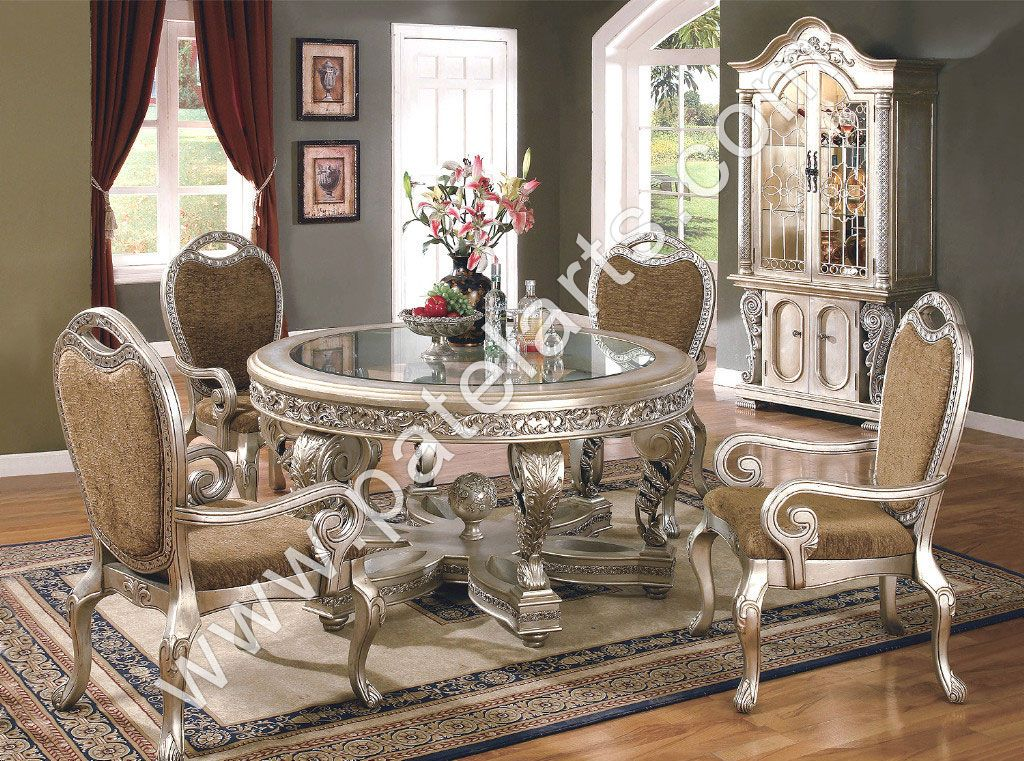 Room Silver Dining Table