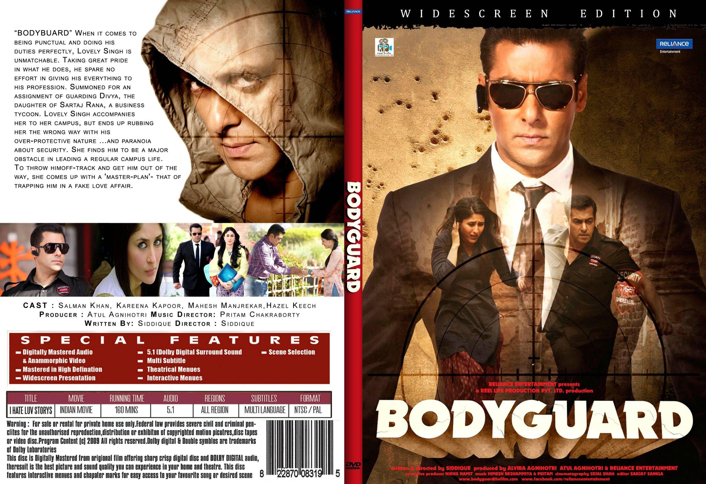 Free Download BollyWood Movie Bodyguard (2011) Blu ray