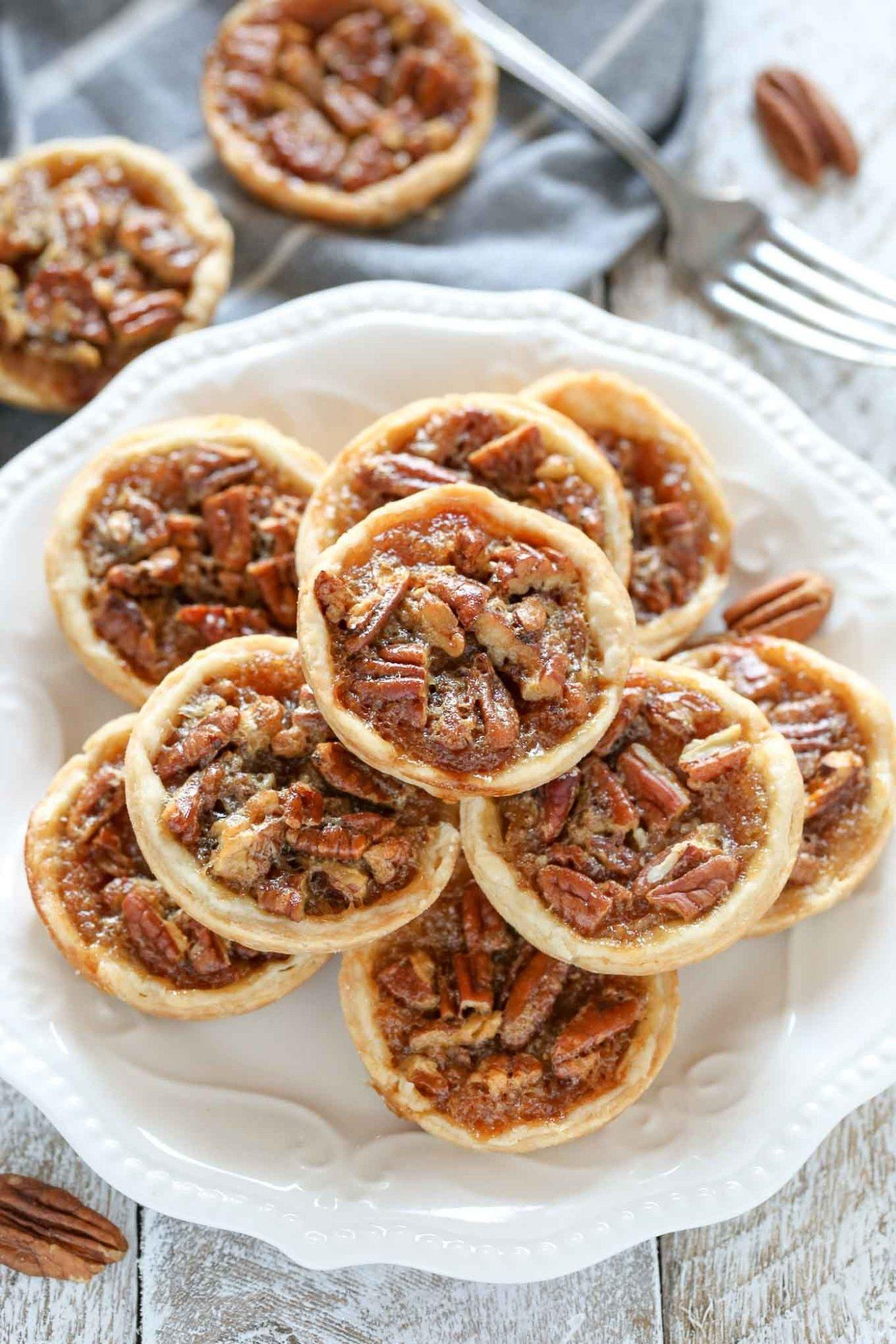 These Mini Pecan Pies are easy to make and can also be made ahead of time. These... - Food -