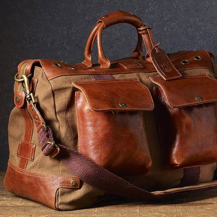 23f4ad39c2d0 Will Leather Goods  Traveler Duffle (Tobacco) from TRADE Men s Wares for   395 on Square Market