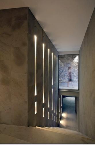 Hausbau Lichtplanung trapverlichting brink licht len