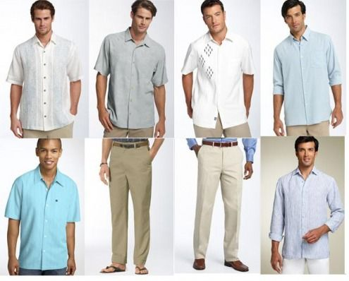 Beach Wedding Attire For Guests Men