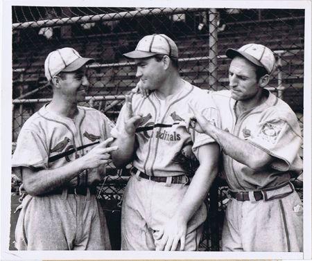 Enos Slaughter Pepper Martin Johny Mize Original 1939 Cardinals 8x10 Wire Photo Ebay St Louis Baseball Baseball History Cardinals Baseball