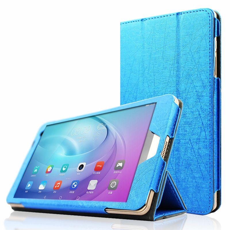 T1-701u Folding Stand flip leather case For Huawei Mediapad T1 7.0 ...
