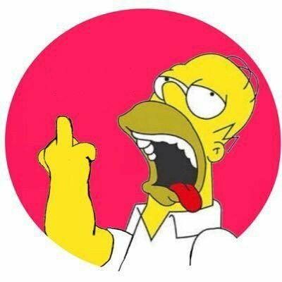 Homer simpsonfckoff