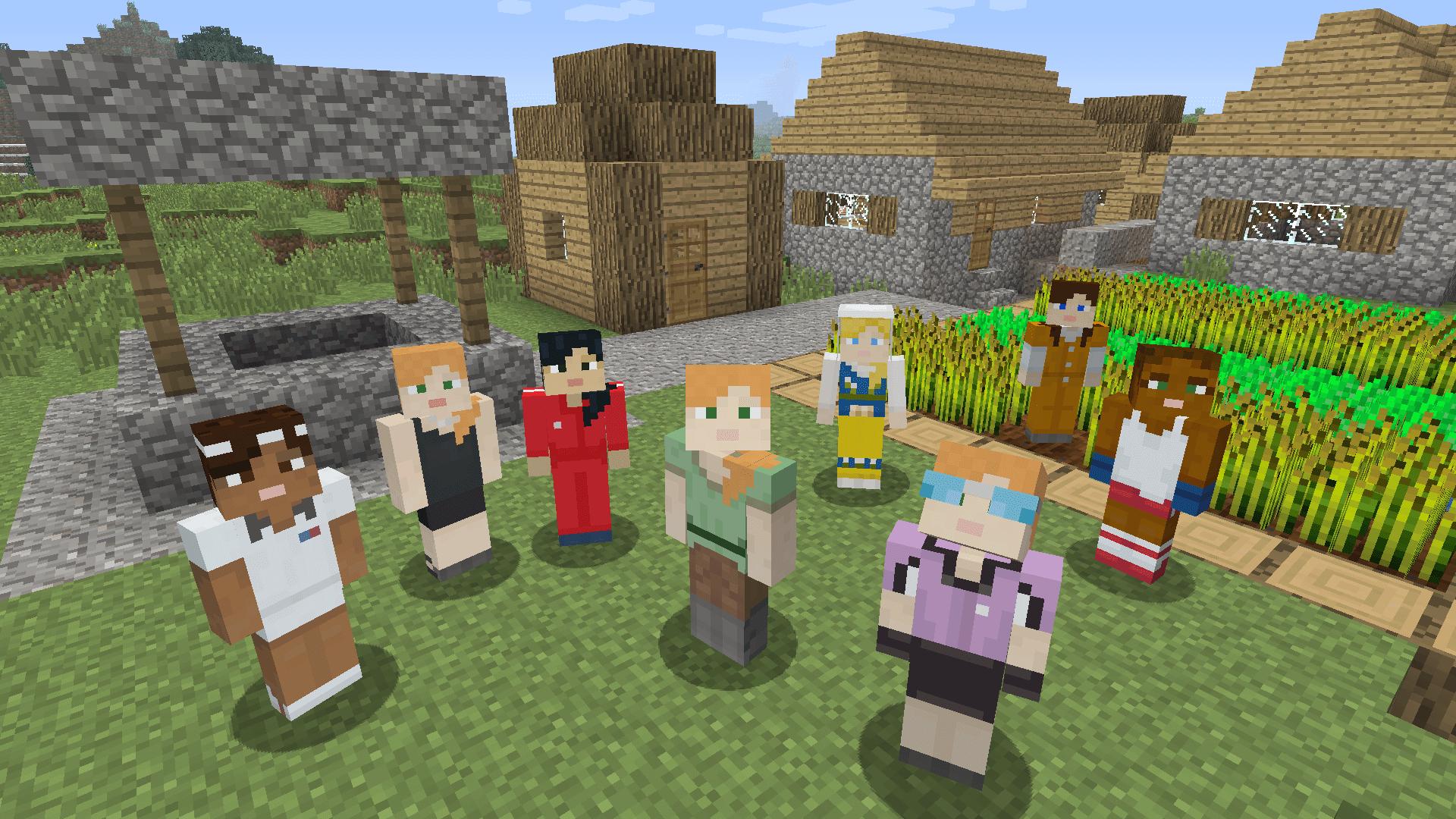 Minecraft Bedrock Edition chega ao PS12 amanhã com cross-play entre