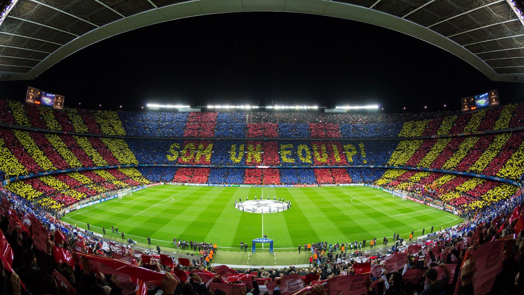 Google chrome themes crvena zvezda - Camp Nou S L Estadi On Juga El Fc Barcelona