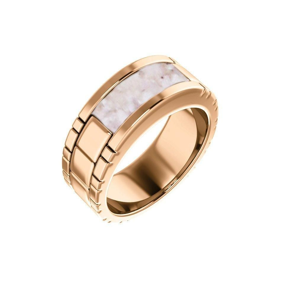 10k Gold Men S Cremation Ring Gold Cremation Band Ring Cremation Jewelry Ash Ring Ash Jewelry Urn Ashes Jewelry Memorial Jewelry Ashes Cremation Ring