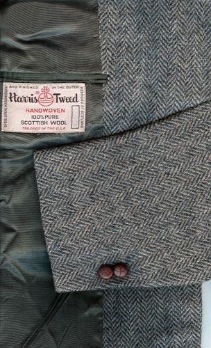 HARRIS TWEED Men's Wool Sport Coat Blazer