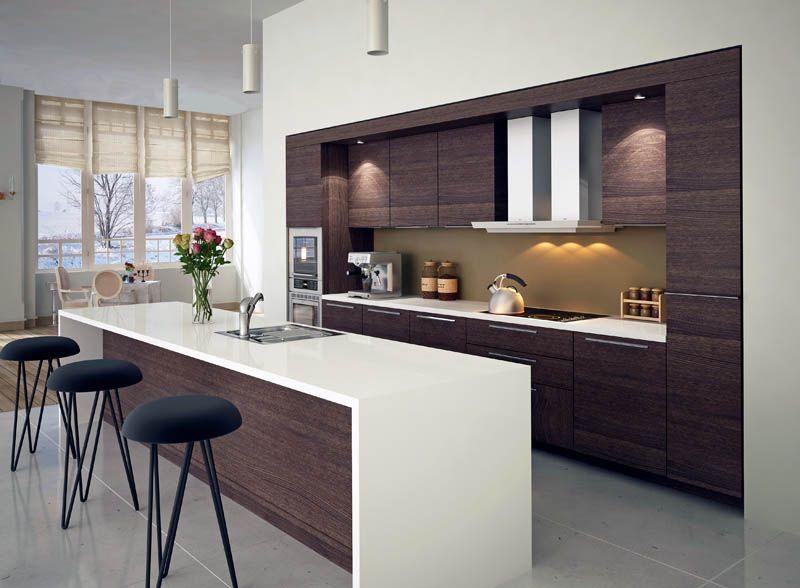 Marine Ply Kitchen Kitchen Modern Kitchen Interior