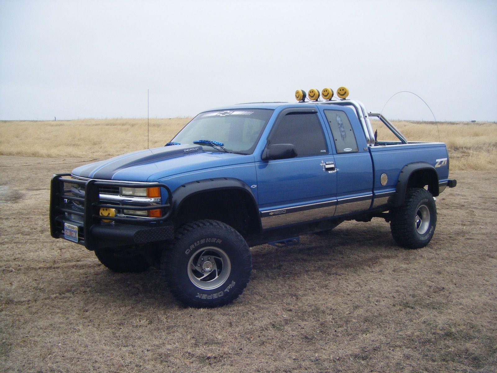 Rebuilt Engine 1995 Chevrolet Silverado 1500 Monster Truck With