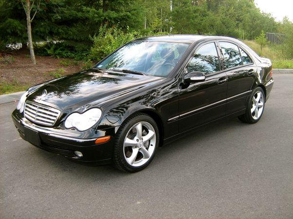 2004 mercedes c230 kompressor first benz and first car we for Mercedes benz c230 amg