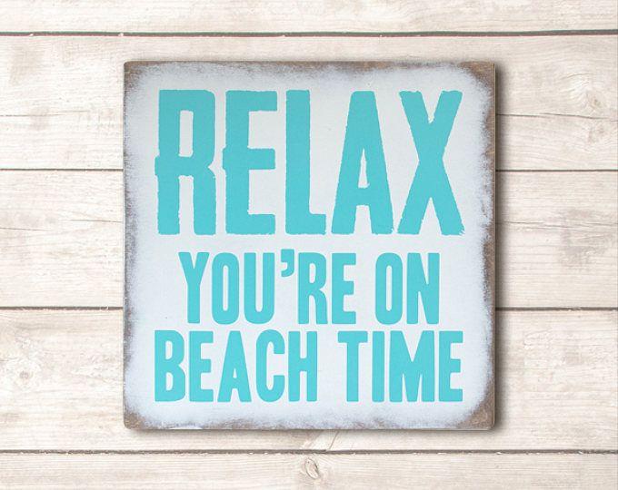 Beach Decor Beach Wood Signs Beach Wooden Signs Beach Signs