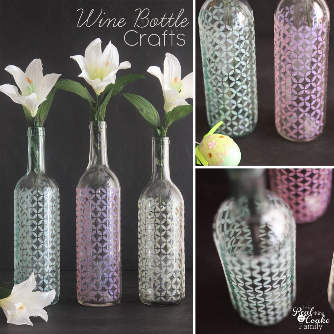 16+ Stencils for painting on glass bottles ideas in 2021