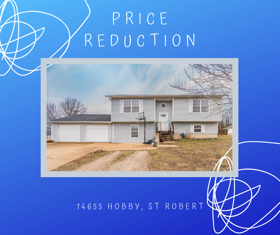 PRICE REDUCTION 🔑 on 14655 Hobby in St Robert