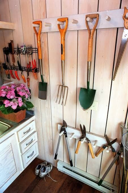 17 Creative Garden Tools Storage Ideas to Help You Organize Your Stuff
