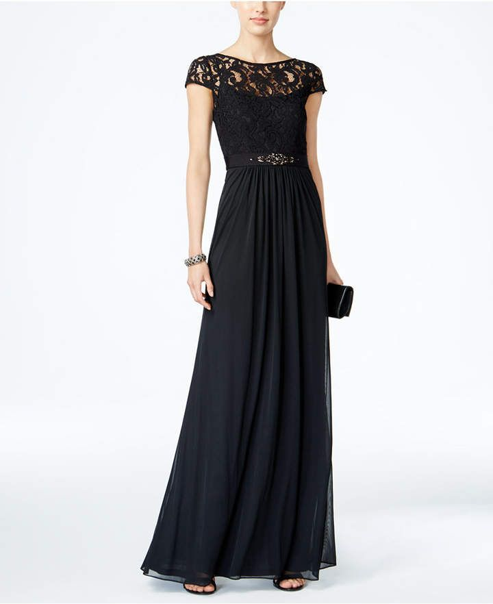 himno Nacional chatarra Conquistar  Adrianna Papell Lace Illusion Gown#dress#dressing#womendress#womenclothing  #womenfashion#partydress#workdress#summerd…   Lace evening dresses, Womens  dresses, Gowns