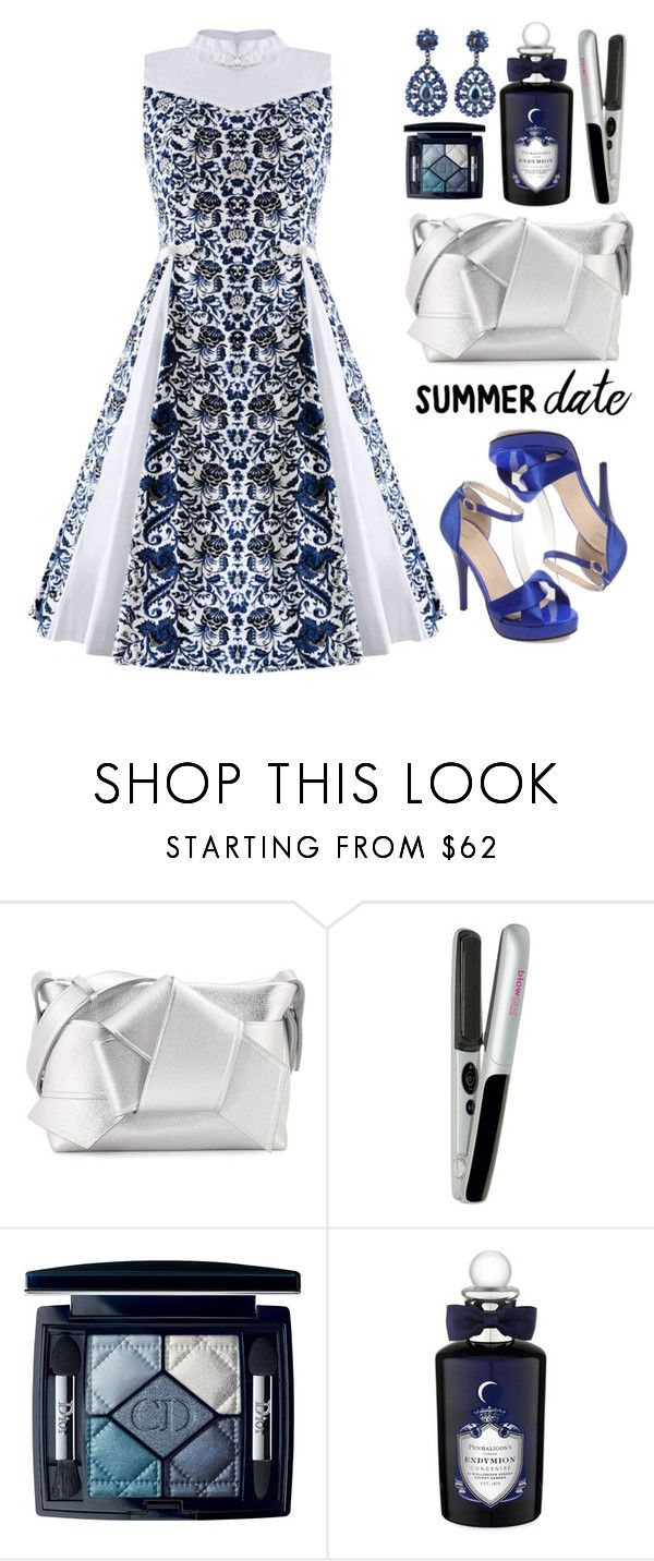 """""""Summer Date Night"""" by beebeely-look ❤ liked on Polyvore featuring Acne Studios, blow, Christian Dior, PENHALIGON'S, Pumps, sammydress, under100 and summerdatenight"""