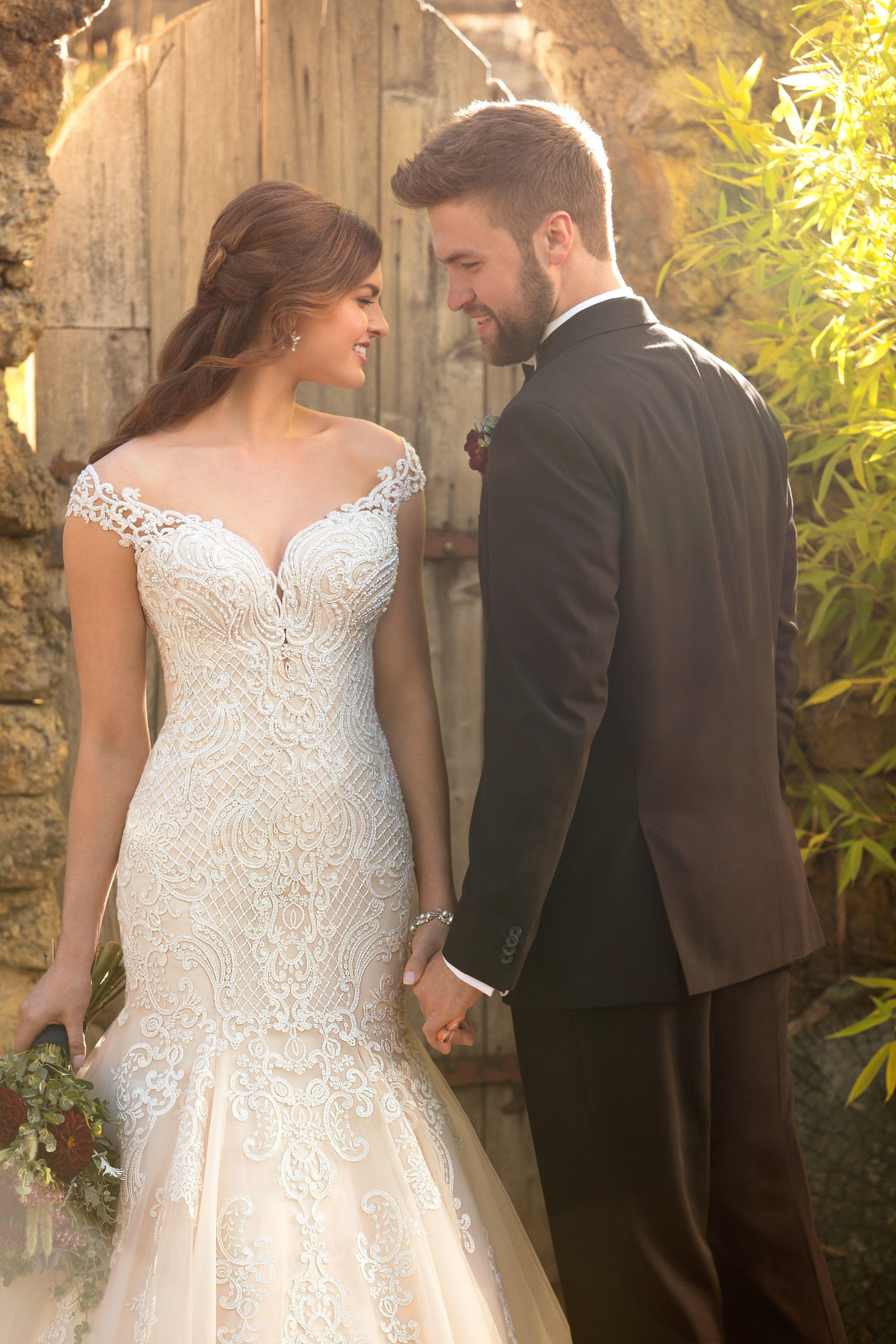 Mermaid Wedding Dress With Rich Beadwork Essense Of Australia Wedding Dresses Destination Wedding Dress Wedding Photoshoot [ 4344 x 2896 Pixel ]