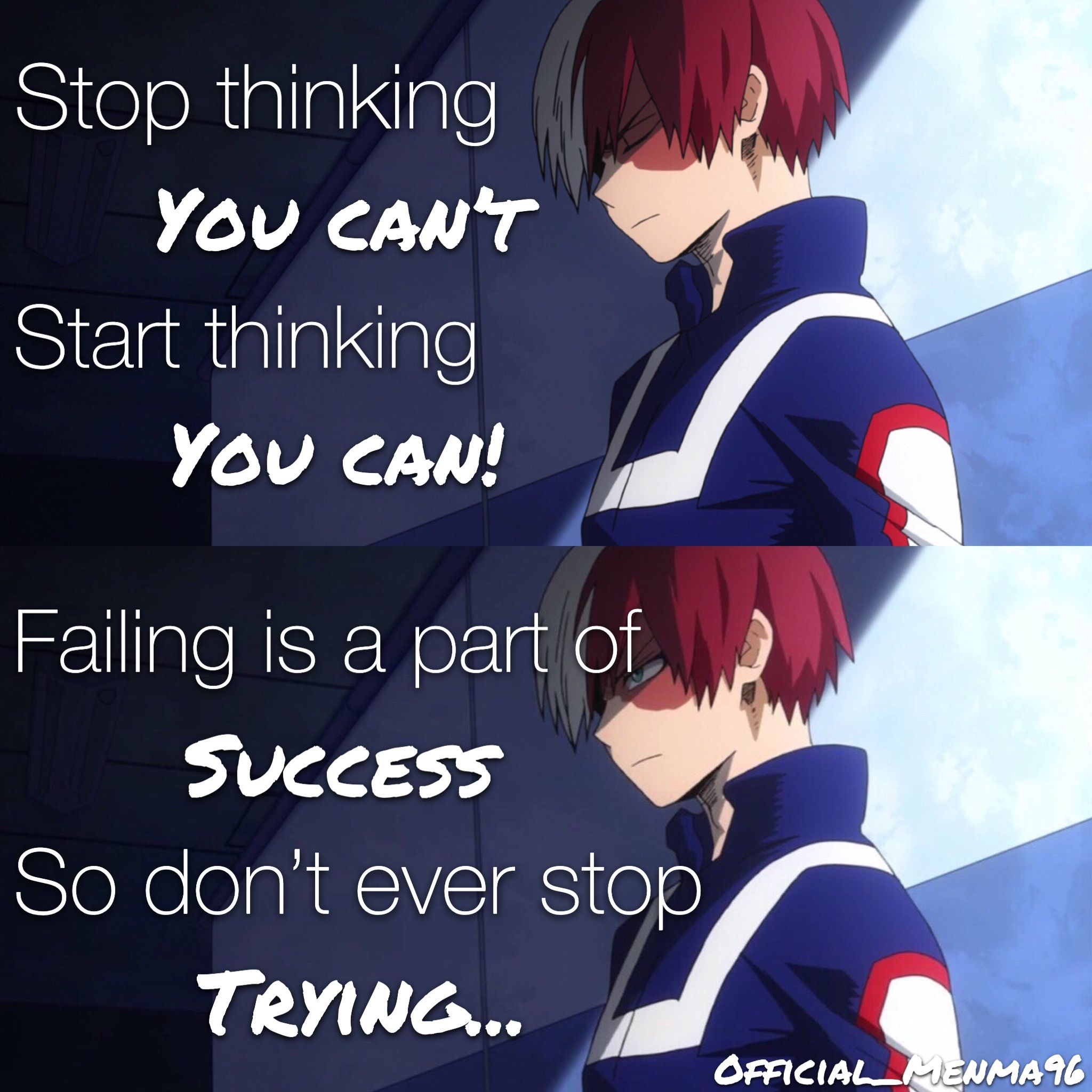 My Hero Academia Quotes Wallpaper: Pin On Anime Quotes