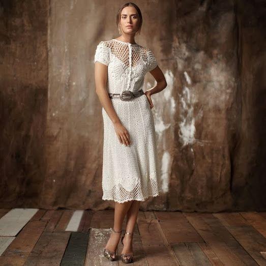 Outstanding Crochet: Designer: Ralph Lauren