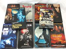 Horror Movie (VHS Lot of 10) Vampire, Mummy, Werewolf, Frankenstein
