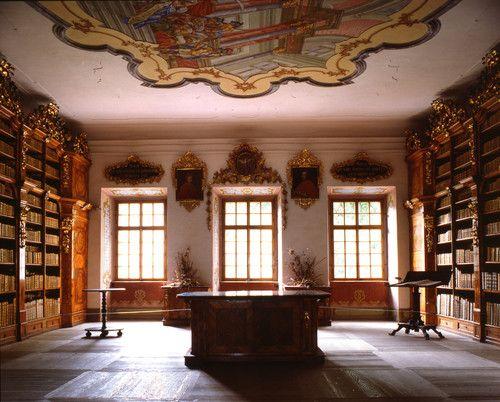 Brod biblioteca del monasterio (República Checa)