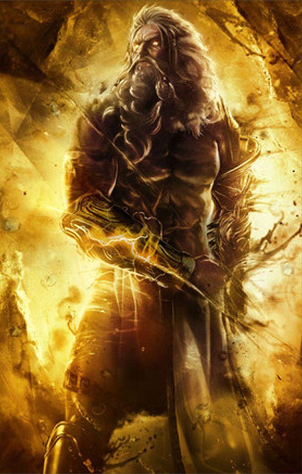 Padre de dioses jefe del olimpo mitologia griega for God of war 3 jardines del olimpo