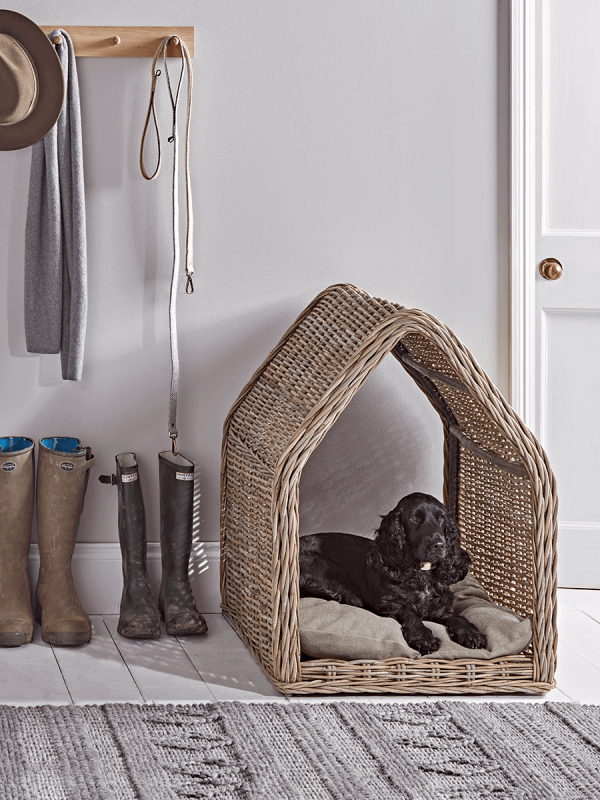 Rattan Pet House Large in 2020 Dog bed luxury, Indoor