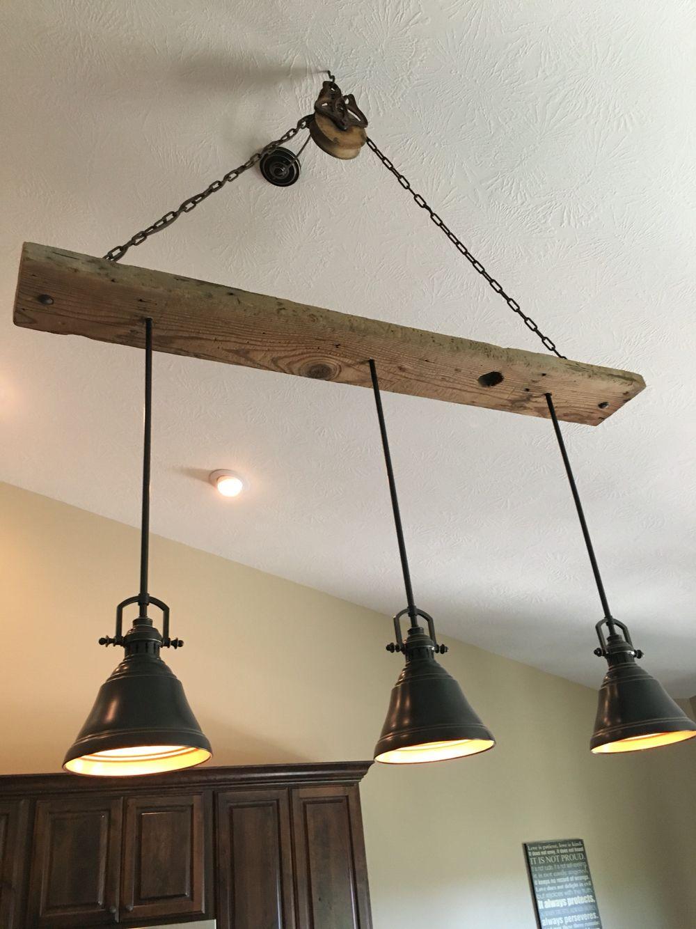 diy wood ceiling light fixture