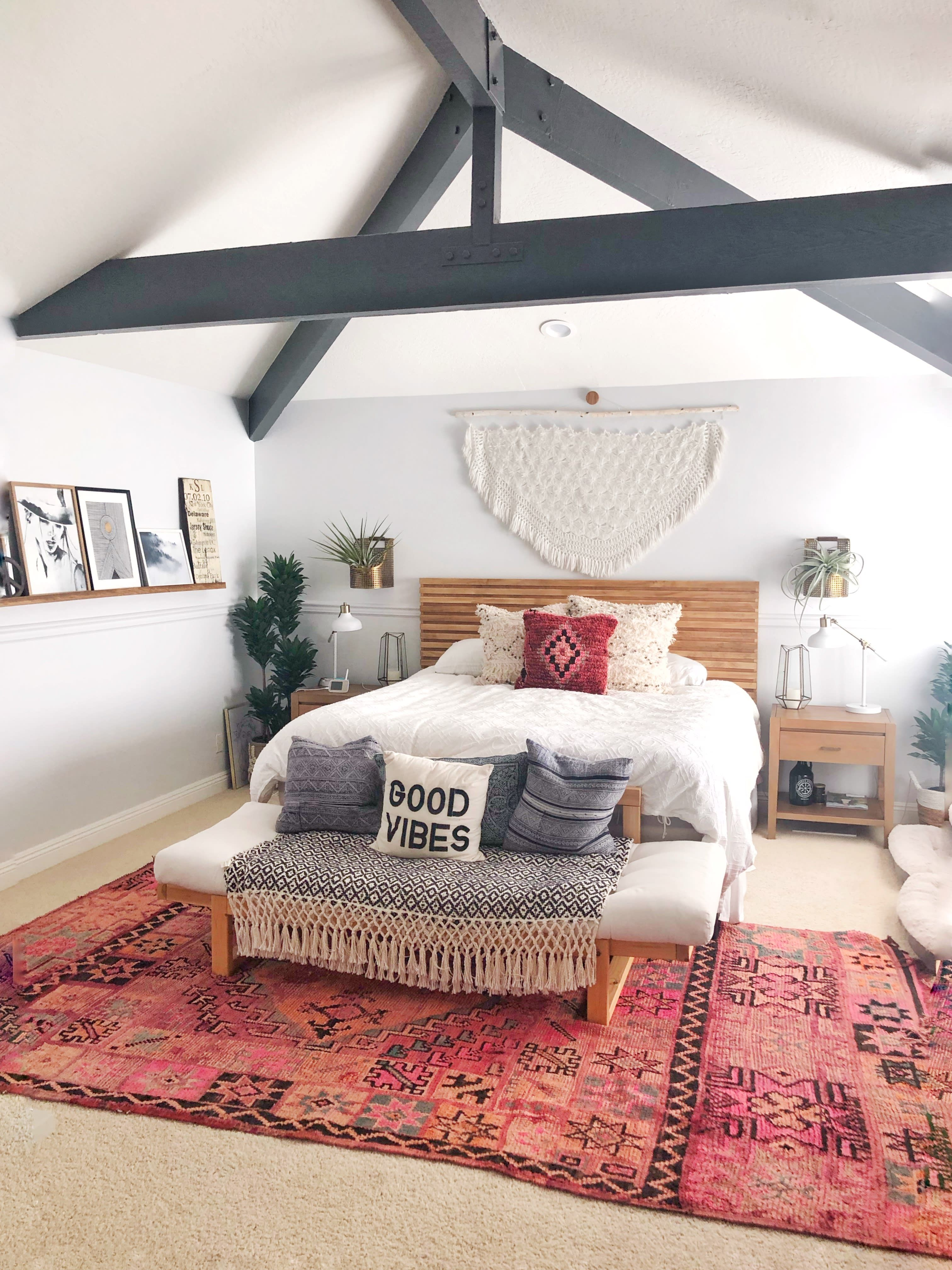 A TraditionalLooking House Turned Modern Bohemian Dream