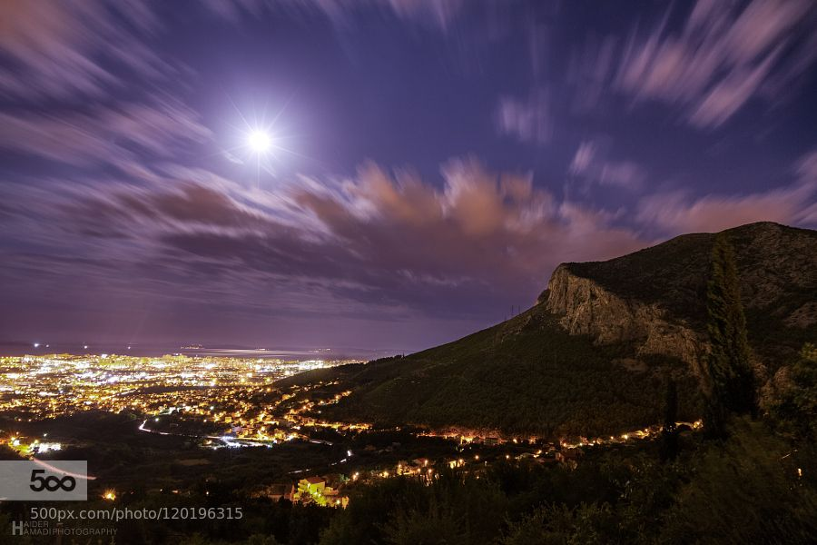 Under The Moonlight by HaiderHamad #landscape #travel