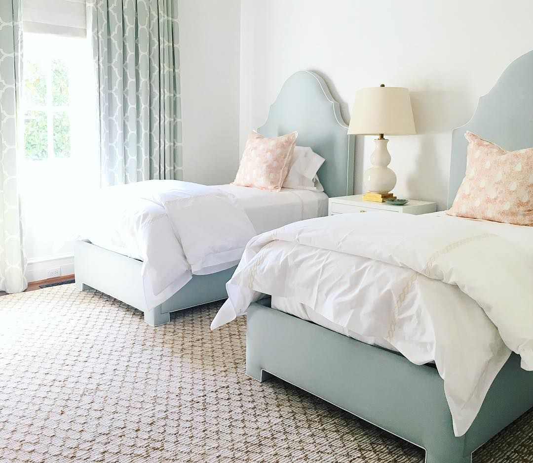 Bedroom Design By Collins Interiors Two Matching Twin Beds