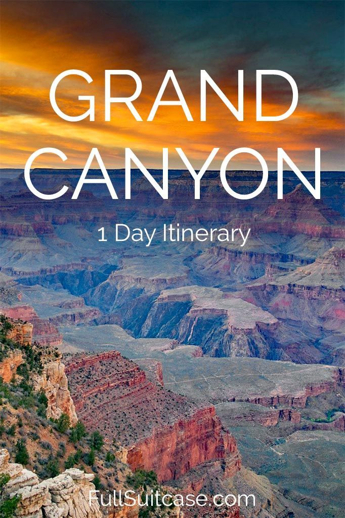 One Day at the Grand Canyon (Perfect Itinerary)   North ...