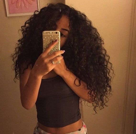 Best 25 Middle Part Curly Hair Ideas On Pinterest What