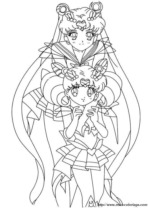 ausmalbild sailor moon manga | SMoon-Colouring Pages :3 | Pinterest ...